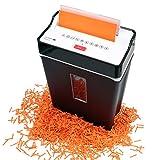 Olympia PS 53 CC Profi Aktenvernichter (mit Partikelschnitt, Sicherheitsstufe P4, Kreditkarte, 6 Blätter 80 g/m², Papierschredder fürs Büro, Papiervernichter, Reißwolf mit Papierkorb, Sichtfenster)
